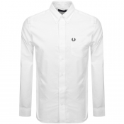 Fred Perry Long Sleeved Classic Oxford Shirt White